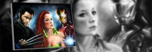 Wolverine-IronMan-Obrazy na míru