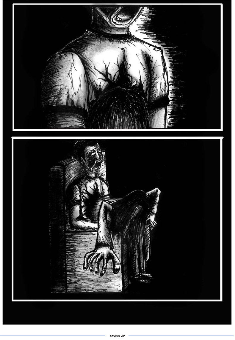 Komiks-Comics-Teplo domova v rodinném kruhu-Autor: Jiří Podhorský