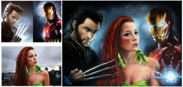 Nicka-Wolverine-Iron man