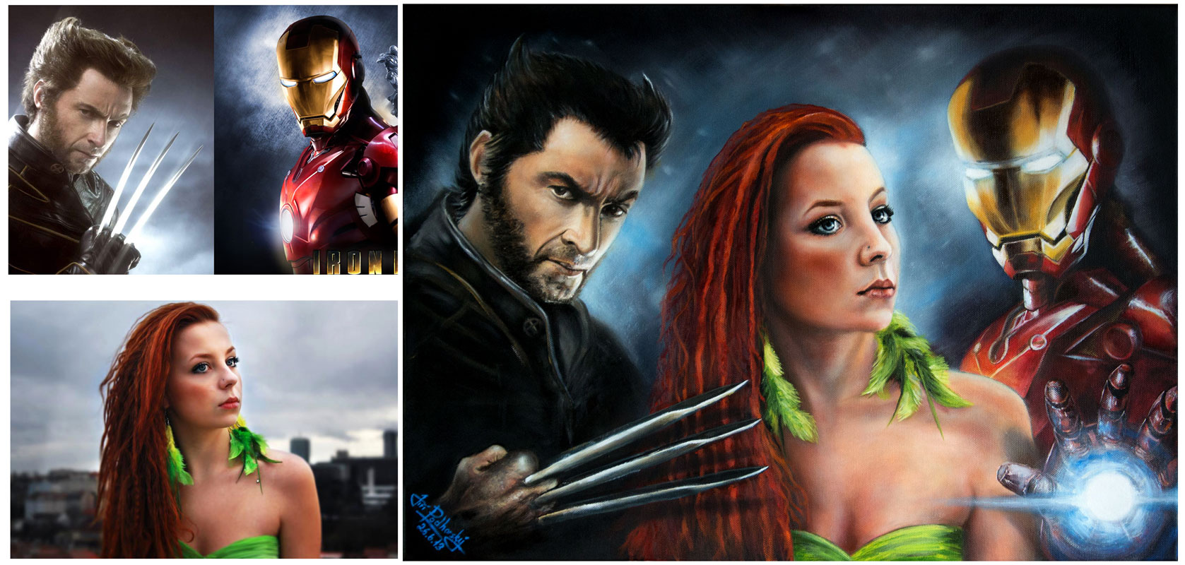 Nicka-Wolverine-Iron man