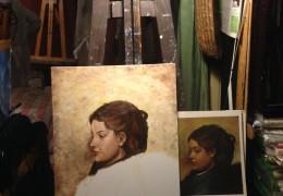 Edgar Degas – Olej na plátně – 50 x 40 cm – Jiří Podhorský – Ateliér Věry Šteflové