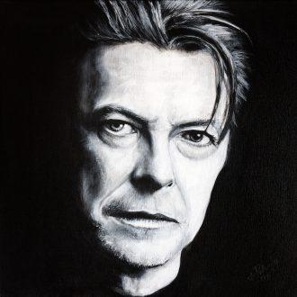 David Bowie - 40x40cm-akryl-platno-4000kc